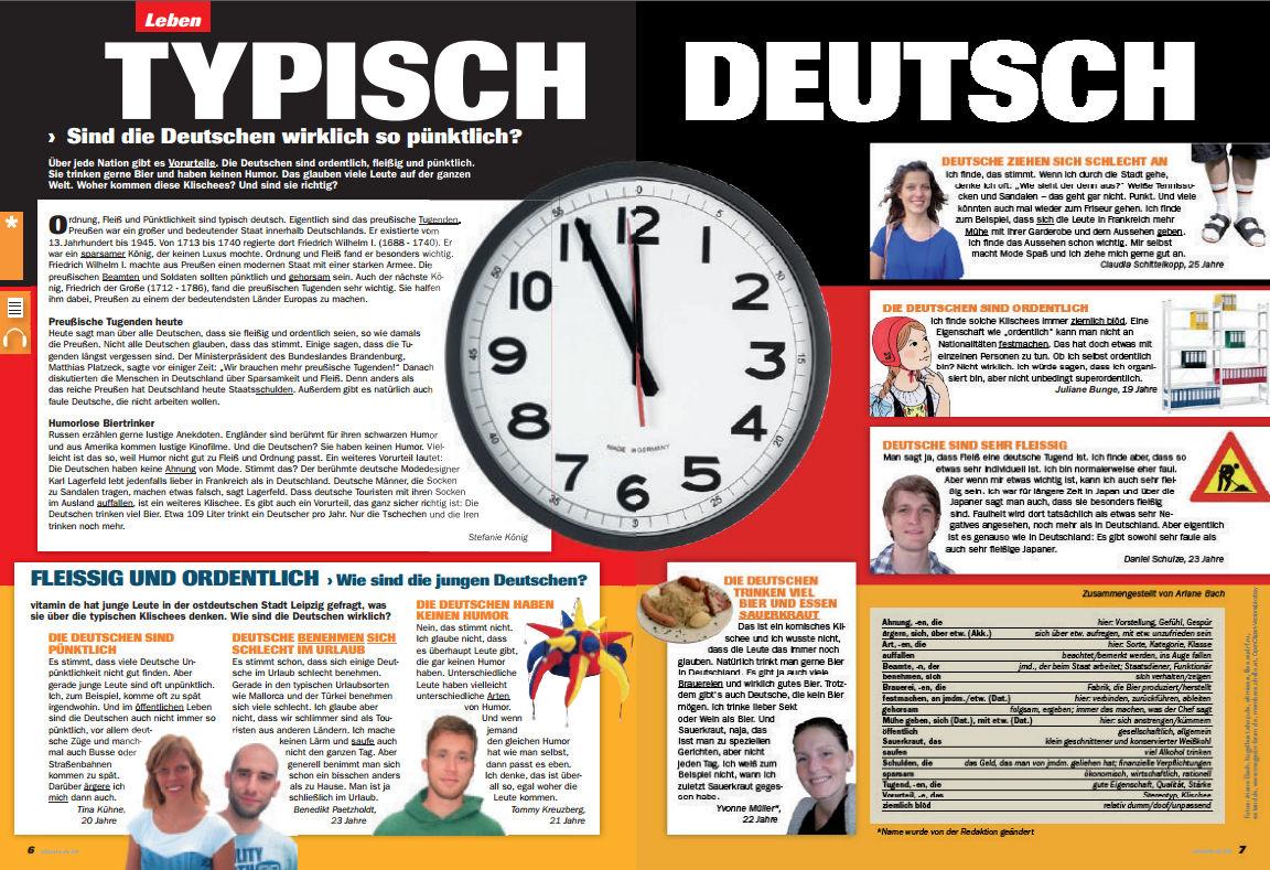 Typisch Deutsche Tugenden