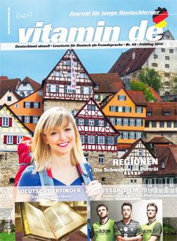 Vitamin de Ausgabe 68 Titelbild