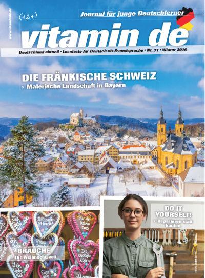 Vitamin de Ausgabe 71 Titelbild