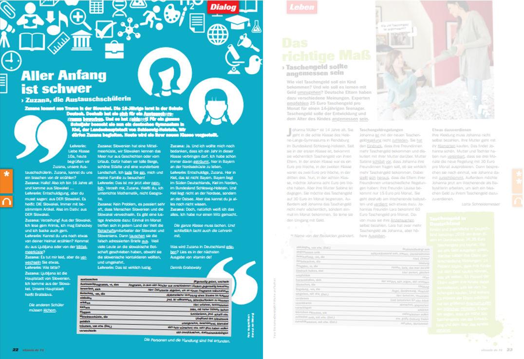 Ausgabe Nr. 72: Audiodateien (MP3) und Arbeitsblätter (PDF ...