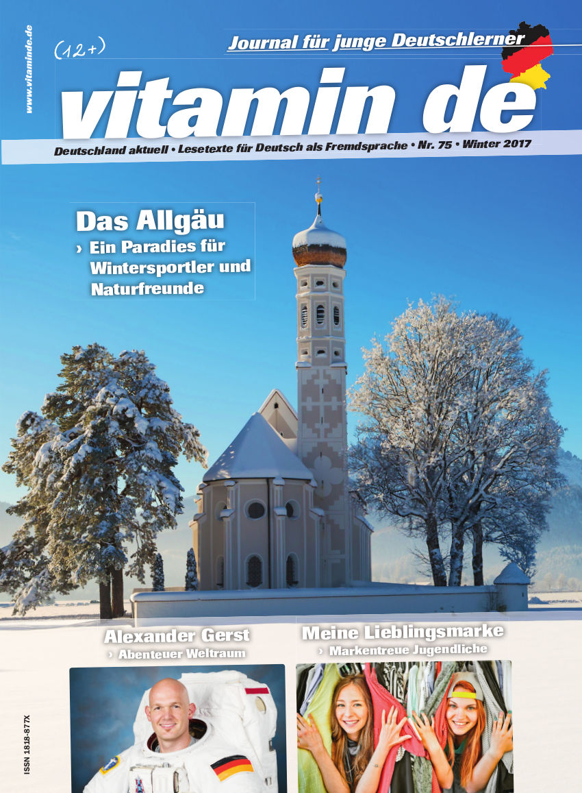 Vitamin de Ausgabe 75 Titelbild