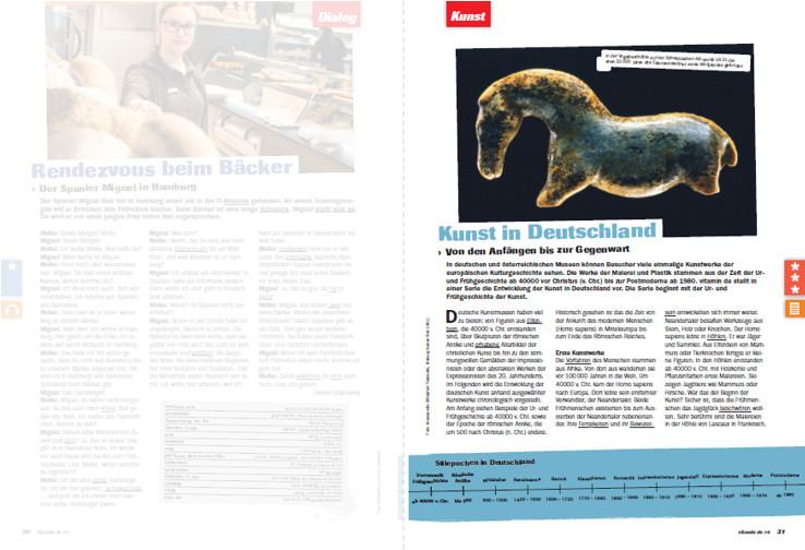 Arbeitsblätter und Audiodateien - Deutsch lernen mit vitamin de