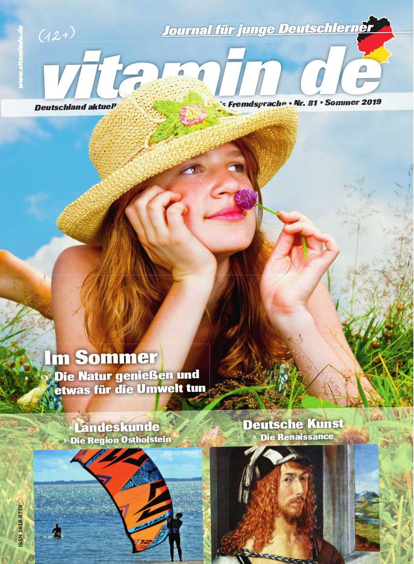 Vitamin de Ausgabe 81 Titelbild