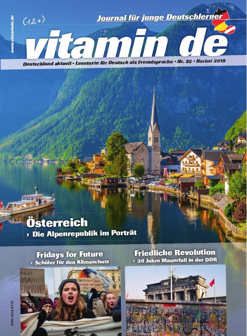 Vitamin de Ausgabe 82 Titelbild